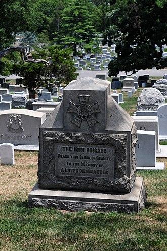John Gibbon - John Gibbon's grave at Arlington National Cemetery