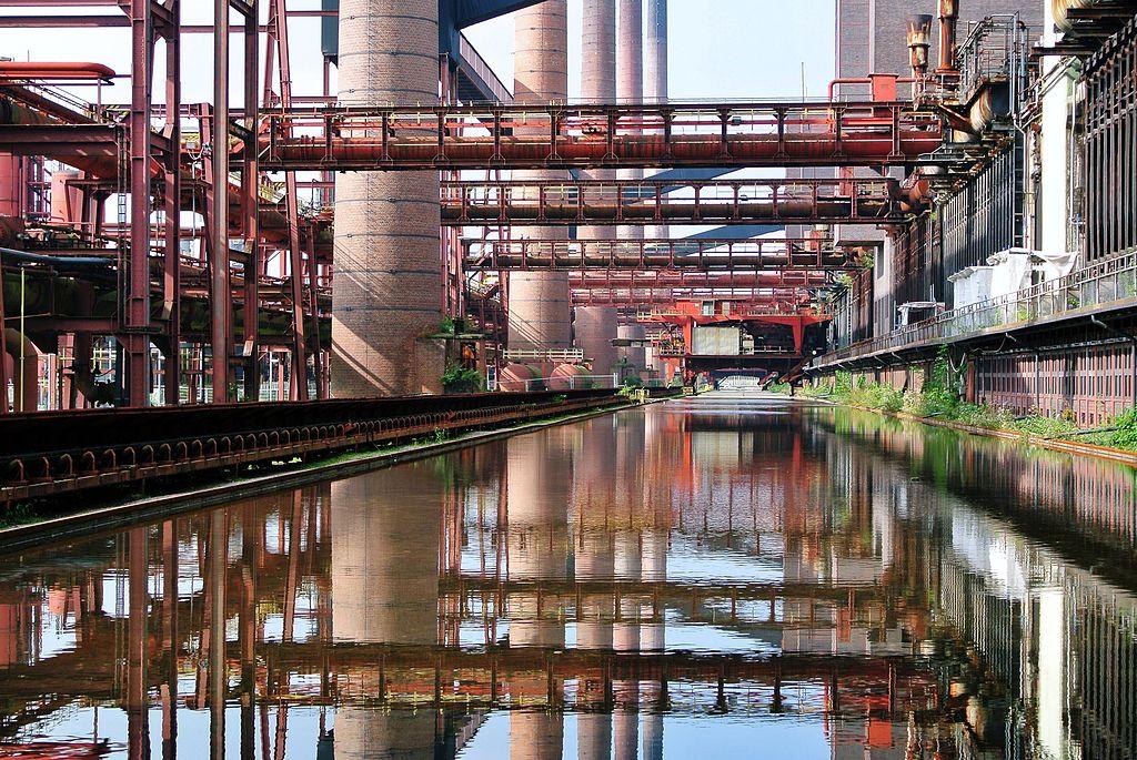 Zentralkokerei Zollverein der Zeche Zollverein in Essen.