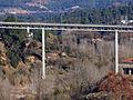 156 Monistrol de Montserrat, el pont del ferrocarril sobre el Llobregat.JPG