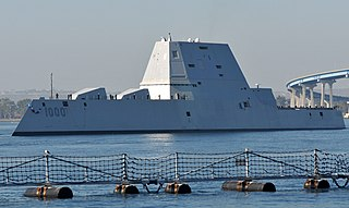 USS <i>Zumwalt</i> Guided missile destroyer of the United States Navy