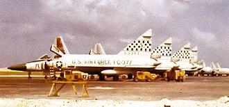 16th Weapons Squadron - 16th Fighter-Interceptor Squadron F-102A Delta Dagger