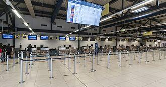 Berlin Schönefeld Airport - Terminal D check-in area