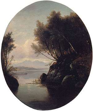 Benjamin Champney - Image: 1878 Moat Mtn by B Champney NH Historical Society