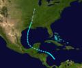 1898 Atlantic tropical storm 5 track.png