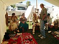 18th century vendors... describing their wares and their uses, Feast of the Hunters Moon 2006-10-08.jpg