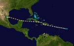 1909 Atlantic hurricane 6 track.png