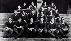 1911 Clemson Tigers football team - Image: 1911 Clemson Tigers football team (Taps 1912)