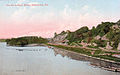 1911 Lehigh River at Adams Island.jpg