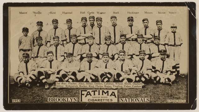 1913 Brooklyn Dodgers