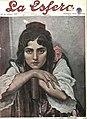 1916-01-01, La Esfera, Una malagueña, Pedro Sáenz Sáenz.jpg