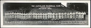 1920 Cleveland Indians season - The 1920 Cleveland Indians