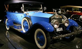 Rolls-Royce Limited - 1923 Springfield Silver Ghost Oxford Tourer