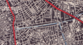 1945 map of street layout around Burgess Park, Southwark.png