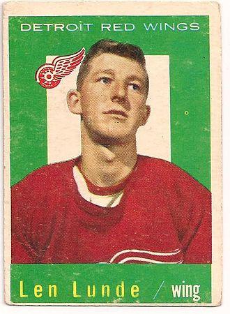 Len Lunde - Image: 1959 Topps Len Lunde