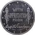 1960 President Dwight D Eisenhower Appreciation Medal DDE-04(obverse).jpg