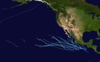1968 Pacific hurricane season hurricane season in the Pacific Ocean