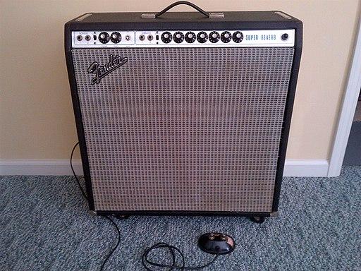 1972 Fender Super Reverb (silver face)