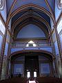 197 Santuari de la Misericòrdia (Canet de Mar), nau i galeria de l'orgue.JPG