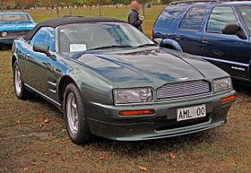 Aston Martin Virage Wikipedia - Aston martin virage coupe