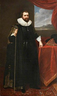 Lionel Cranfield, 1st Earl of Middlesex 16th/17th-century English merchant and politician