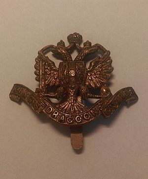 1st King's Dragoon Guards - 1st King's Dragoon Guards Cap Badge