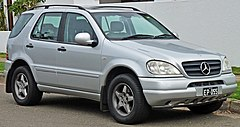 Mercedes-Benz ML I (W163) przed liftingiem