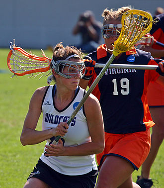 Women's lacrosse - 2005 NCAA Women's Lacrosse Championship in which the Virginia Cavaliers lost to the Northwestern Wildcats