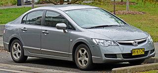 Honda Civic (eighth generation) Motor vehicle