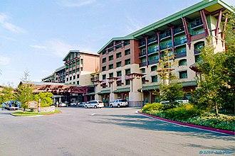 Disney's Grand Californian Hotel & Spa - Image: 2006 Grand Californian