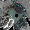 2007 Envisat mosaic of Arctic Ocean ESA210015.tiff