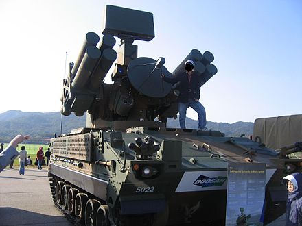 Chunma self-propelled anti-aircraft missile system - Republic of Korea Air Force