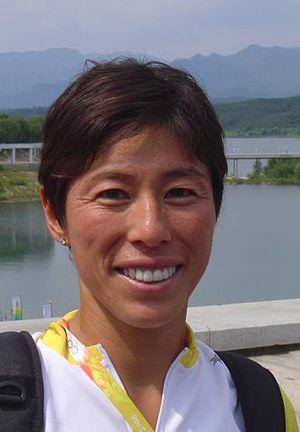 Kiyomi Niwata - Kiyomi Niwata at the Olympic Games in Beijing, 2008.