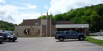 Munising, Michigan - Alger County Courthouse Complex