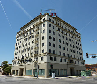 Downtown Bakersfield - The Padre Hotel building, renovated and reopened in 2010, has been a longtime landmark in Downtown Bakersfield.