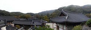 Magoksa - Image: 2009 10 11 Magoksa Panorama