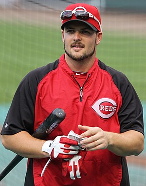 Chris Heisey - Heisey with the Cincinnati Reds