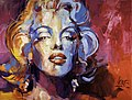 2011 04 Marilyn Monroe, Acrylic on Canvas, 200x150cm wiki.jpg