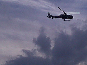 Republican Guard (Egypt) - Republican Guard helicopter during the Egyptian Revolution of 2011