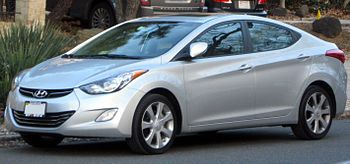 2011 Hyundai Elantra photographed in Washingto...
