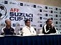2012 AFF Suzuki Cup Press Conference Nov 14 2012.jpg