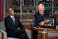 2012 President Barack Obama with David Letterman.jpg