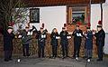 2013-12-21 9. Nachbarschaftstreffen Schwalbenberg, Celle, Musiker der Kapelle des Musikzuges Celler Knappen e.V mit ihren Blasinstrumenten.jpg