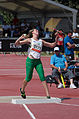 2013 IPC Athletics World Championships - 26072013 - Nicole Harris of Australia during the Women's Shot put - F20 5.jpg