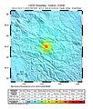 2013 July 21, Dingxi China Earthquake ShakeMap.jpg