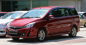 Proton Exora - Image: 2013 Proton Exora Bold 1.6 Premium CFE in Cyberjaya, Malaysia (03)