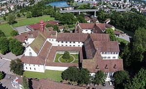 Wettingen Abbey - Image: 2014 05 24 Kloster Wettingen 01