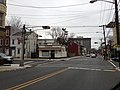 2014-12-20 14 48 45 Horizontally-mounted traffic lights at the intersection of Calhoun Street (Mercer County Route 653) and Spring Street in Trenton, New Jersey.JPG