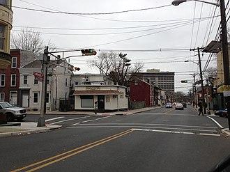 Calhoun Street Extension - Calhoun Street in the Central West section of Trenton.