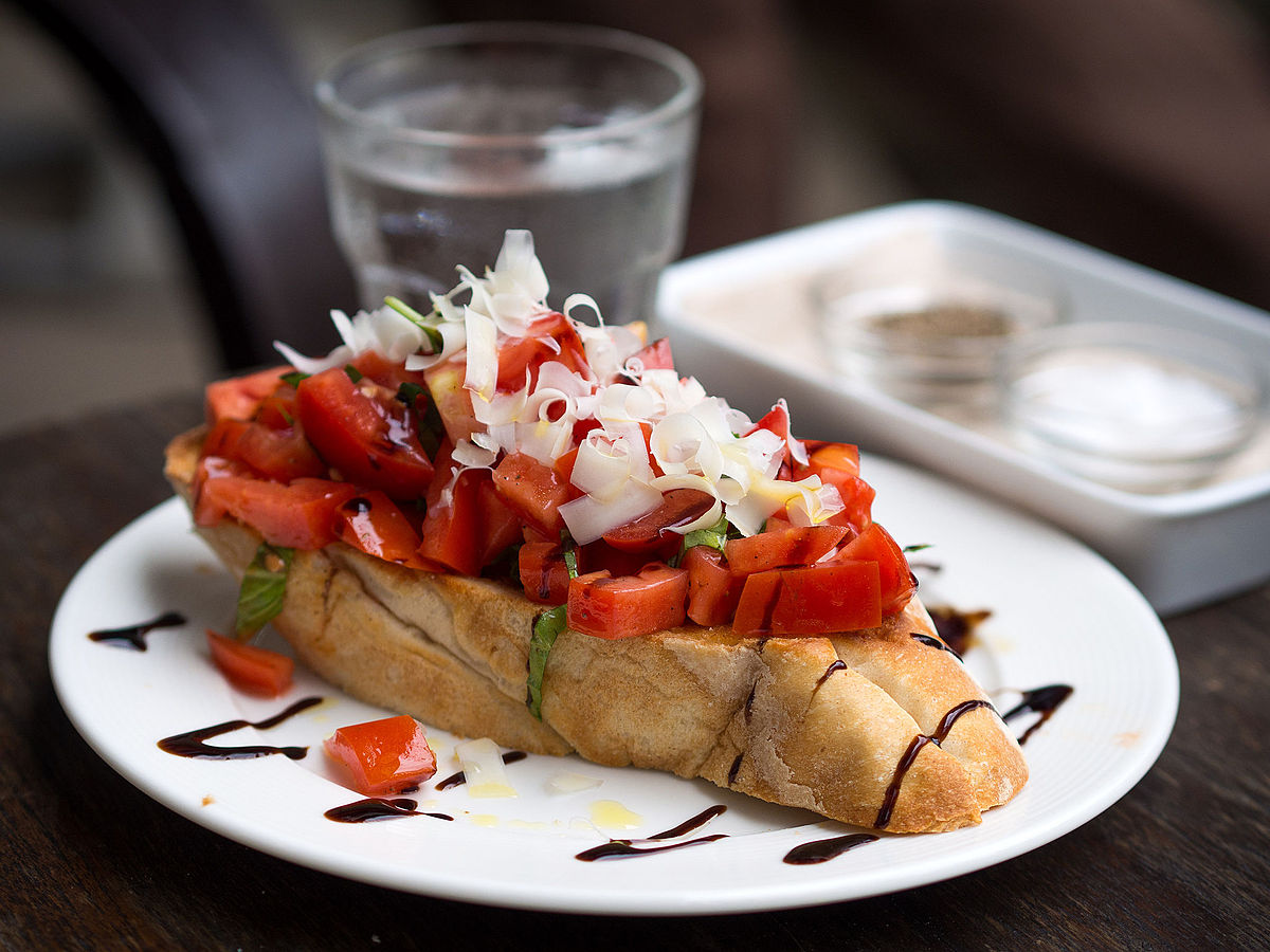 Bruschetta Wikipedia