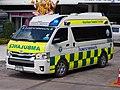 2014 Toyota Commuter 3.0 Khon Kaen Hospital Ambulance.jpg
